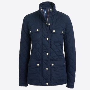 J.Crew Factory Quilted Field Jacket